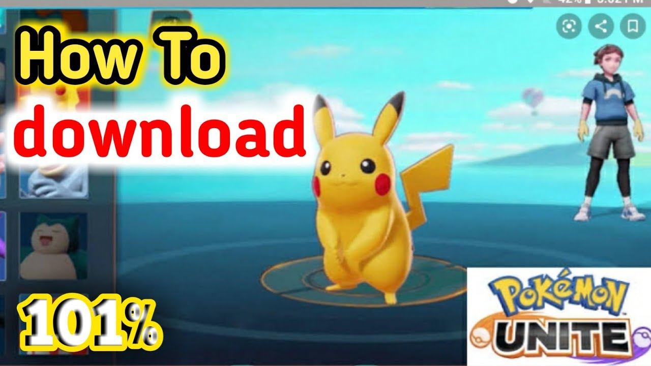 How To Download Pokemon Unite Android And Ios 100 Work Youtube