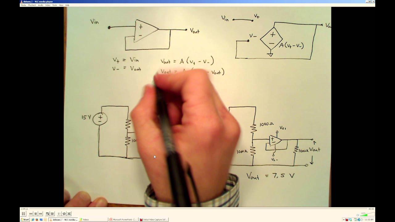 ENGR 313 - 03 15 Buffer Amplifier or Voltage Follower Circuit
