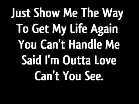 Anastacia - I'm Outta Love Lyrics