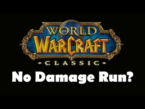 Can You Beat WoW Classic Without Taking Damage? (Solo Leveling 1-60)