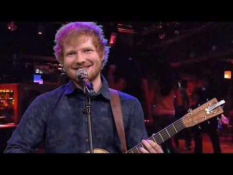 Ed Sheeran Sings Heavy Metal Covers on Tonight Show