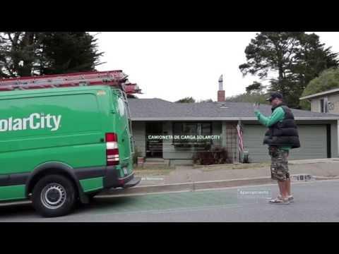 SolarCity Presenta Su instalación en Menos de un Minuto