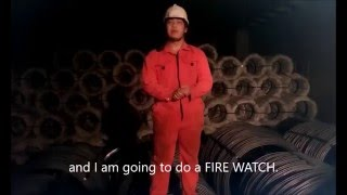 How to do a Fire Watch during Ship Cargo Hot Works