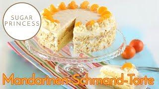 Blitzschnelle, saftige Mandarinen-Schmand-Torte | Rezept von Sugarprincess