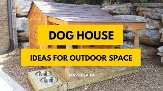 45+ Best DIY Dog House Design Ideas for Outdoor Space