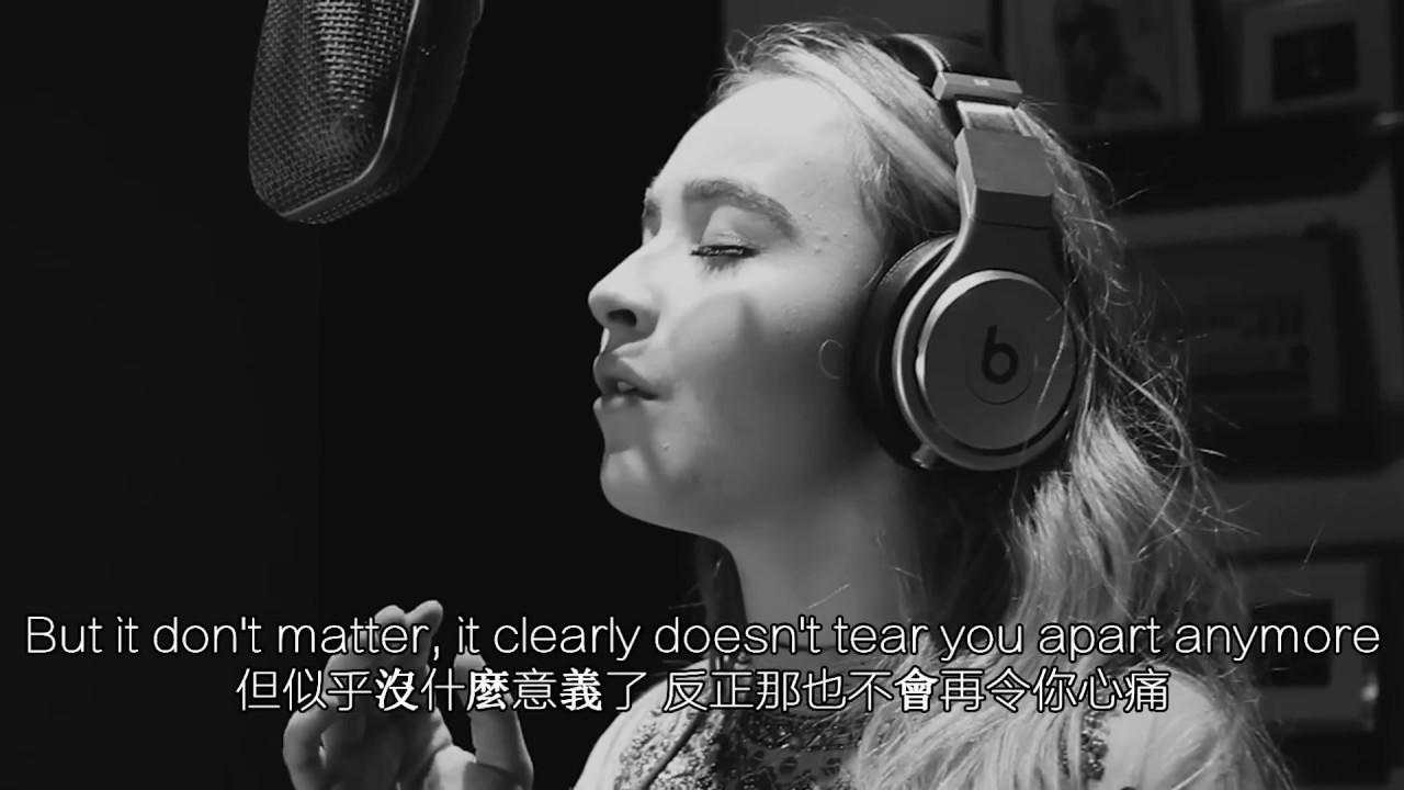 [中文翻譯]Adele/愛黛兒 Hello/你好 (Cover By Sabrina Carpenter)/(莎賓娜卡本特翻唱) - YouTube