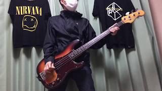 ストレイテナーのTRAIN @Behind The Tokyo をベースで弾いてみました。