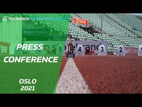 Oslo 2021 Press Conference - Wanda Diamond League