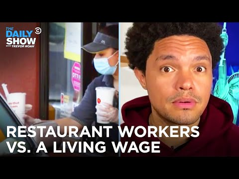 The Real Reason Workers Aren't Running Back to Restaurant Jobs  | The Daily Show