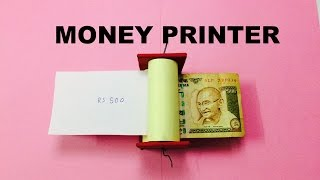 How to make money printer
