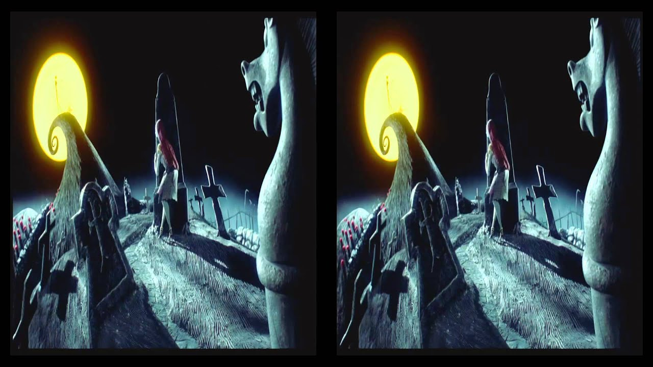 The Nightmare Before Christmas 3d Trailer in 3d - YouTube