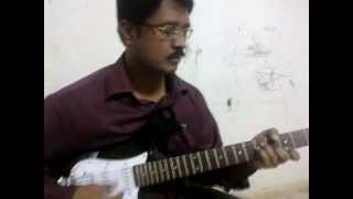 Sathiya Vetham - Tamil Christian gospel church song by acoustic guitar solo instrumental