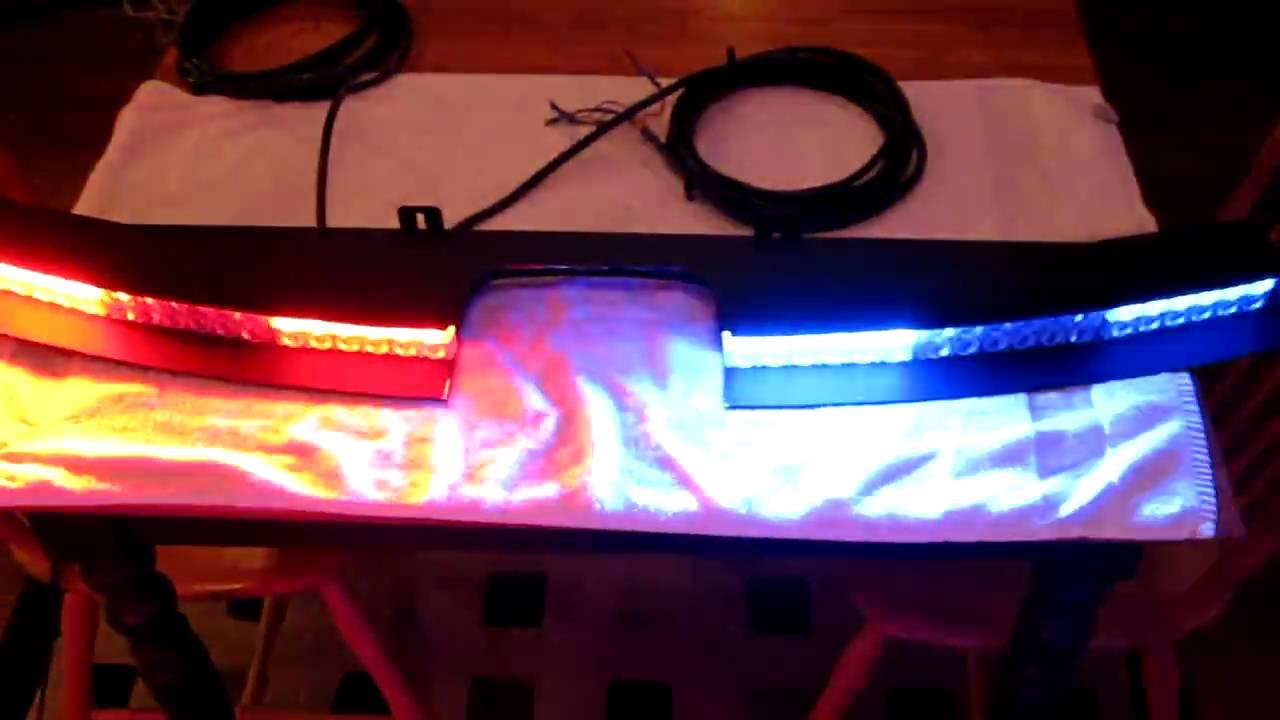 Amber Bar Light Led