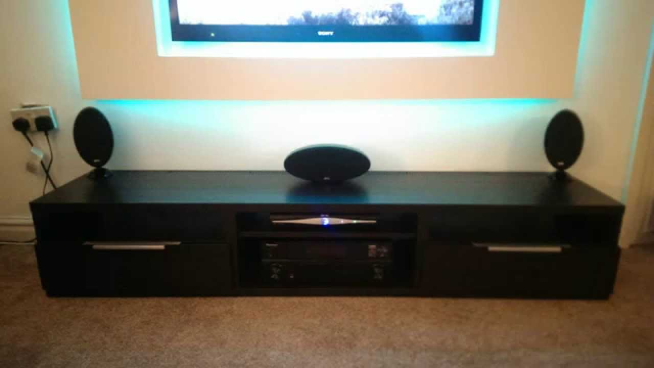 Floating Tv Unit Project Led Strip 5050 Youtube