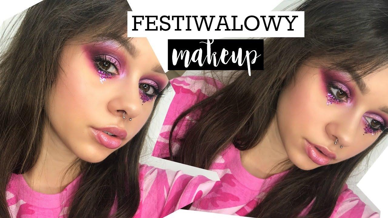 Festiwalowy Makijaż Lilajanowska Youtube
