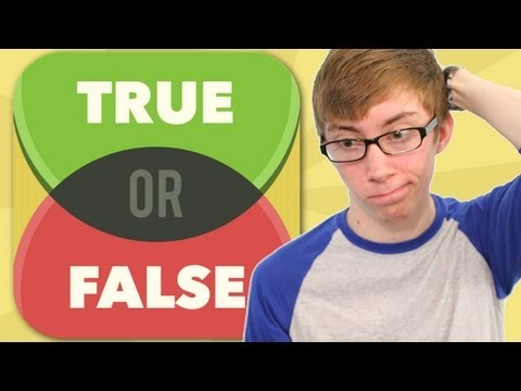 TRUE OR FALSE TEST YOUR WITS Part 2 (iPhone Gameplay Video)