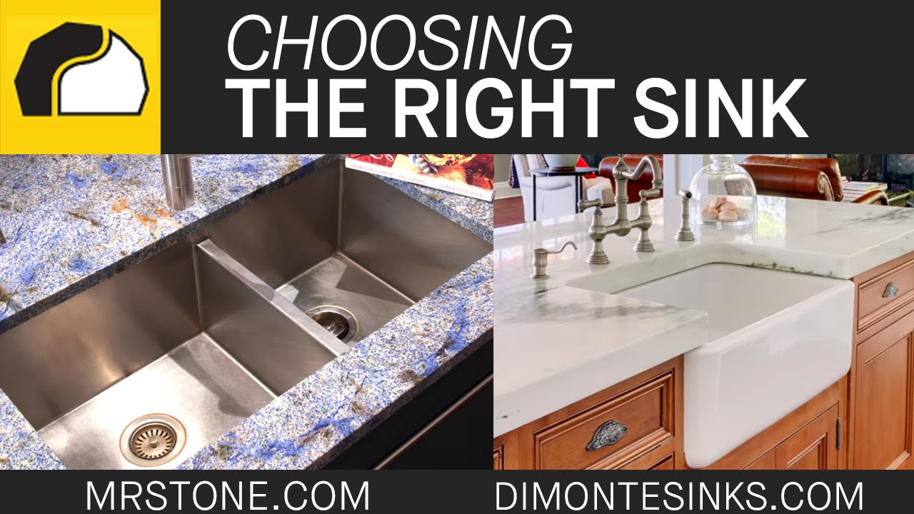 Choosing the Right Sink | Marble.com - YouTube
