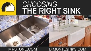 Choosing the Right Sink | Marble.com