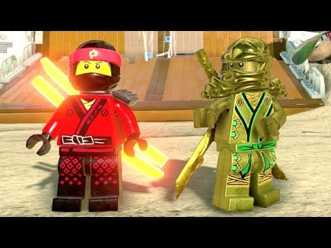 The LEGO Ninjago Movie Videogame - Ninjago City Downtown 100% Guide (All Collectibles)