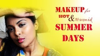 Sweat-Proof Makeup For Hot Humid Summer Days-Makeup that stays ALL DAY!