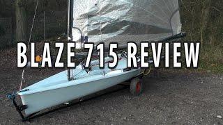 A video walk through of Ians latest Blaze, 715. A mk2 with a Hyde sail