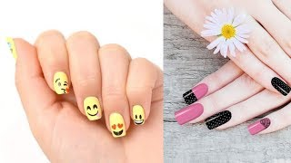 New Nail Art Designs Thin lines✔The Best Nail Art Tutorial Compilation #7