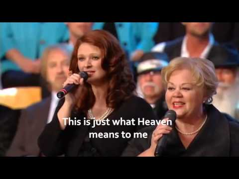 This is just what Heaven means to me w/lyrics-By Tanya Sykes,Becky Bowman & Charlotte Ritchie