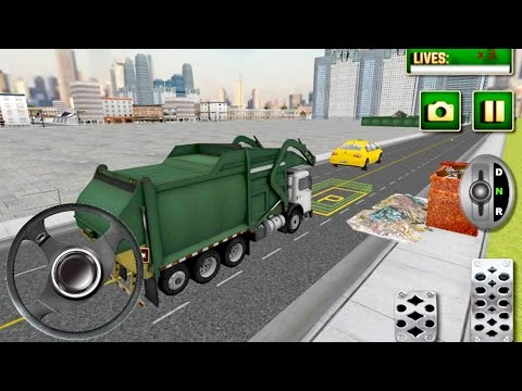City Garbage Truck Simulator (by Game Brick Studio) Android Gameplay [HD]