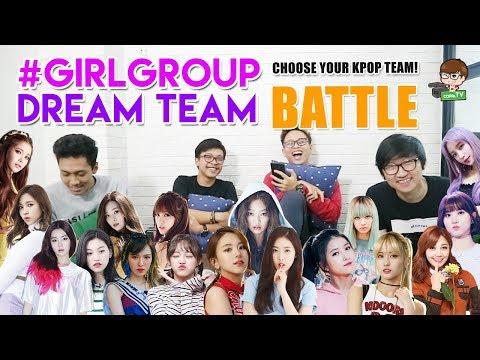K-POP GIRLGROUP DREAMTEAM BATTLE ft. Alphiandi, Kevin F. & Rifqi