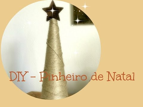 DIY - Pinheiro diferente de Natal #nataldarubita