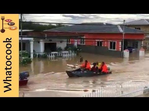 Massive Flooding In Trinidad 2018 😔😔