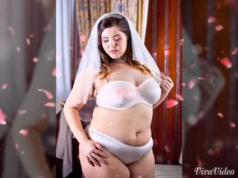 Plus Size Wedding Lingerie - Harmony Bridal Bra Set by Moonrise ...