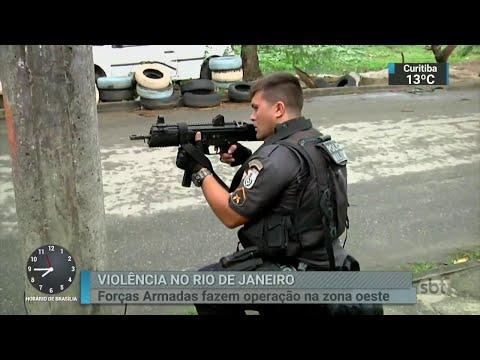 No Rio, Forças Armadas realizam maior operação desde início da intervenção | SBT Brasil (07/06/18)