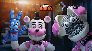 - FUNTIME FREDDY TUTORIAL  FNAF SISTER LOCATION  Porcelana fria Air dry clay  Giovy Hobby