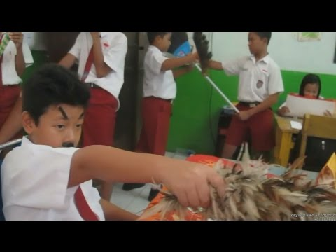 Mannequin Challenge kelas 6B SDN 01 Kartoharjo (SD Guntur) Kota Madiun