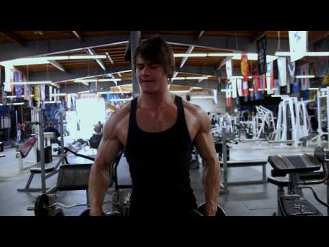 Full Chest, Shoulder, Triceps, Abs workout  with Jeff Seid