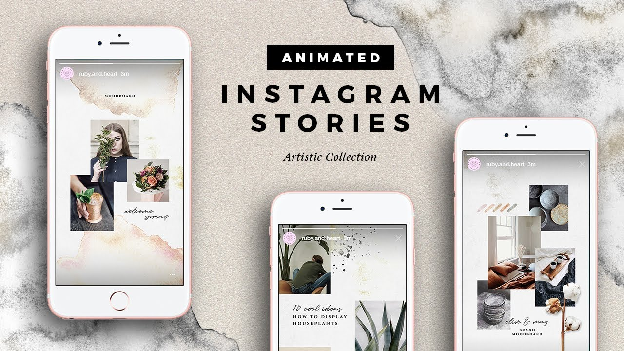 Instagram Templates for Posts, Stories & Story Highlights