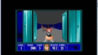 Wolfenstein 3D on MS-DOS running under VmWare ESXi !!!