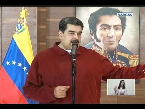 Mensaje de Nicolás Maduro en cadena nacional al retornar de Rusia