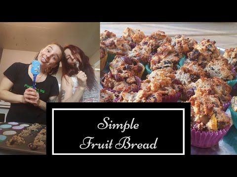 Simple Fruit Bread- Mother's Day Edition!