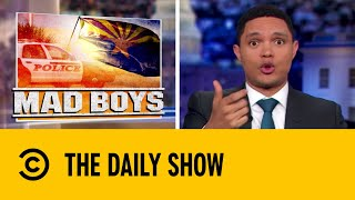 Police Terrorise a Family In Phoenix   The Daily Show with Trevor Noah