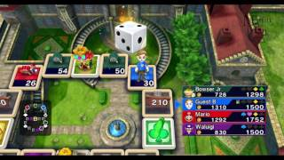 Fortune Street Wii Gameplay HD