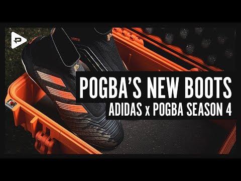 POGBA'S NEXT FOOTBALL BOOTS - ADIDAS x PAUL POGBA SEASON 4 UNBOXING