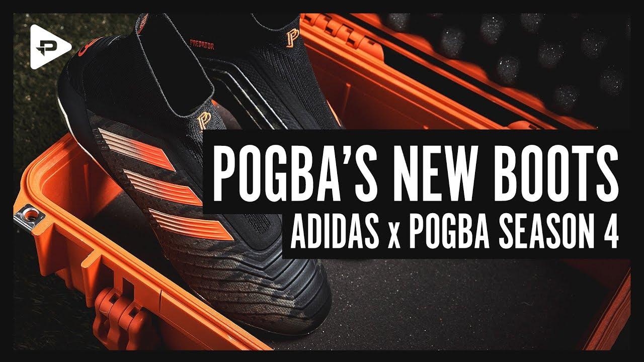 5b6607082 POGBA'S NEXT FOOTBALL BOOTS - ADIDAS x PAUL POGBA SEASON 4 UNBOXING ...