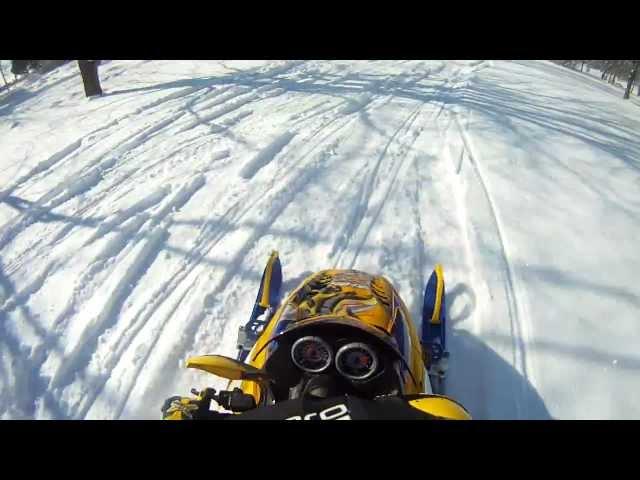 first ride on the 2007 Ski doo XRS 600sdi