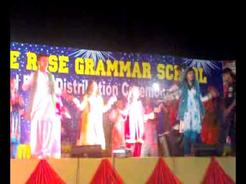 8th Class Students Performing On