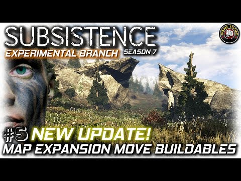 Subsistence | NEW UPDATE! Map Expansion + Move Placed Buildables | EP5 | Subsistence Gameplay