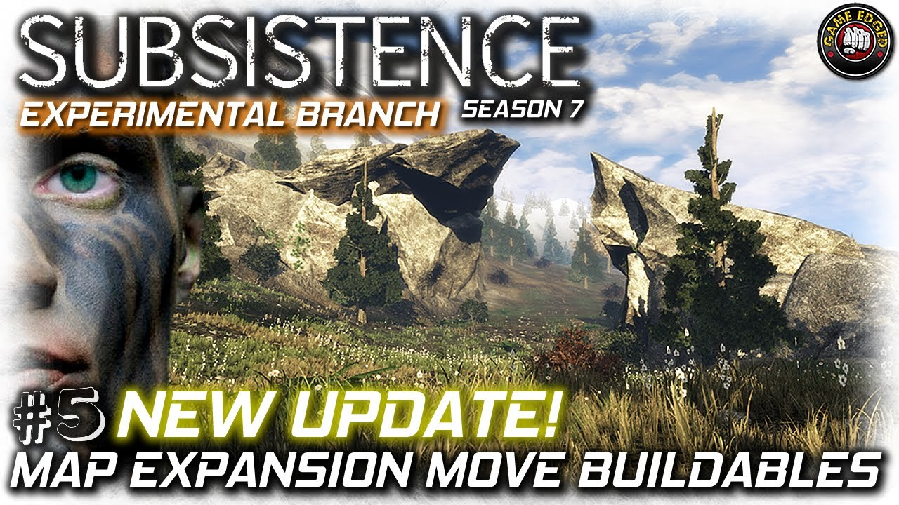 Subsistence New Update Map Expansion Move Placed Buildables Ep5 Subsistence Gameplay Youtube
