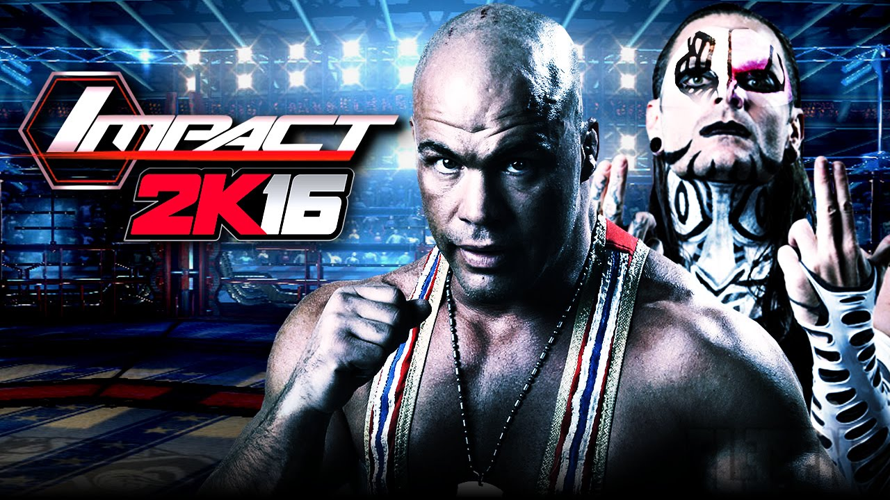 Uncategorized Jeff Hardy Game tna impact wrestling 2k16 demo kurt angle jeff hardy skins notion youtube