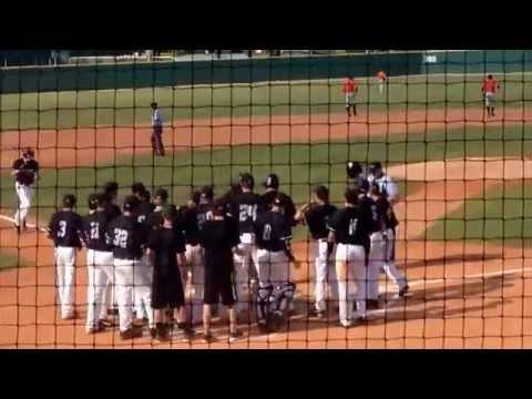 Cory Crow Grand Slam  DeLand High School Baseball